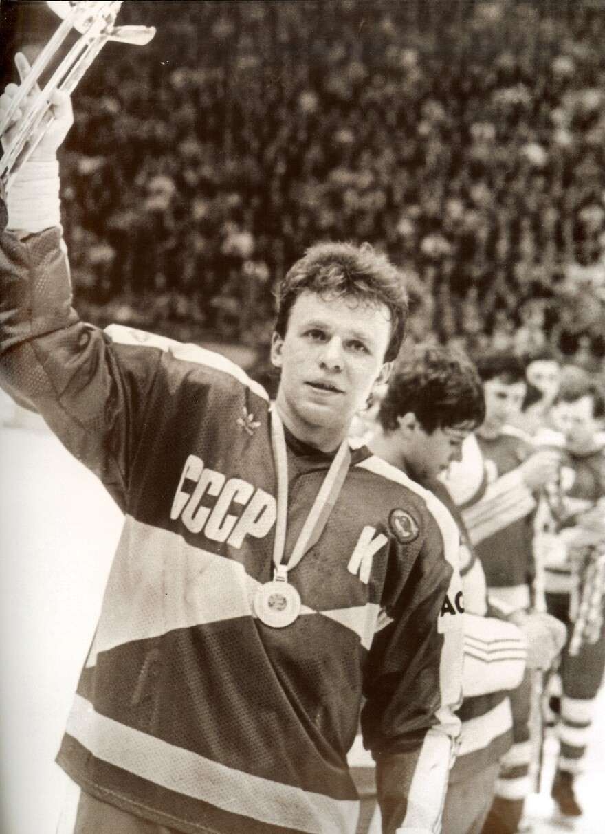 """The documentary <em>Red Army</em> profiles Viacheslav """"Slava"""" Fetisov — one of the most decorated athletes in Soviet history."""