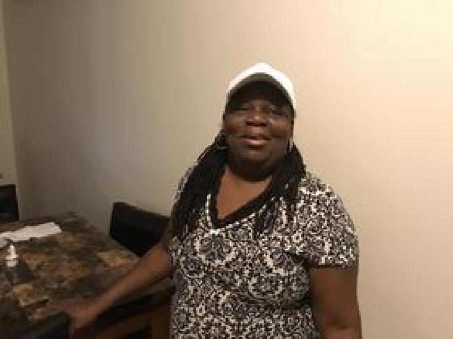 Charlene Jones says she spends more than $100 per month on air conditioning and electricity for fans in her one-bedroom apartment in Miami's West Little River neighborhood. Jones needs to keep the temperature at or below 75 degrees at all times to help control her asthma, bronchitis and chronic obstructive pulmonary disease (COPD).