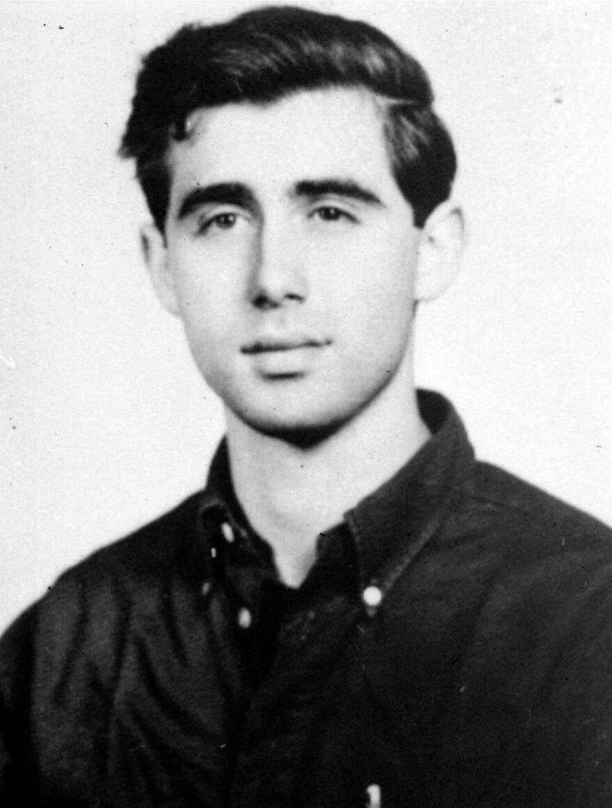 On June 29, 1964, the FBI began distributing this picture of civil rights worker Andrew Goodman of New York City, who disappeared near Philadelphia, Miss., a few days earlier. Goodman and two other activists were later found buried in an earthen dam in Mississippi's rural Neshoba County.