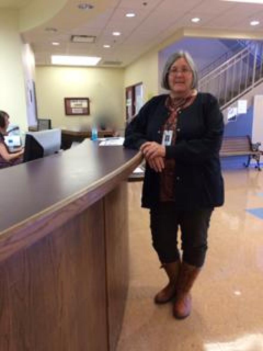 State public health nurse, Sandy Hainline Williams, directs the Arkansas Department of Health's Joseph Bates Outreach Clinic in Springdale which serves the health care needs of thousands of Marshallese migrants.
