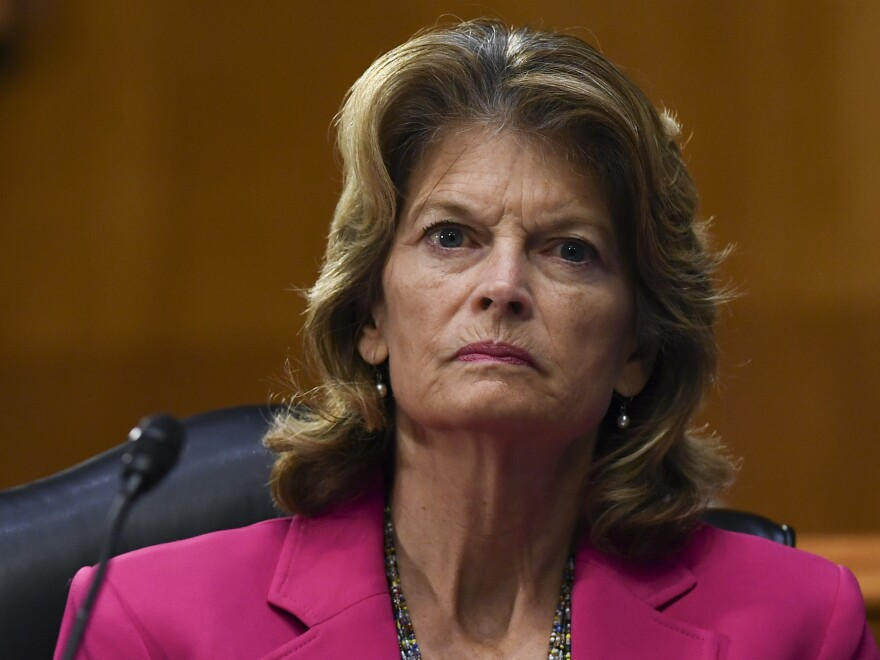 Sen. Lisa Murkowski, R-Alaska, said that she is struggling on whether to back President Trump in his reelection campaign following criticism from former Defense Secretary Jim Mattis about Trump.