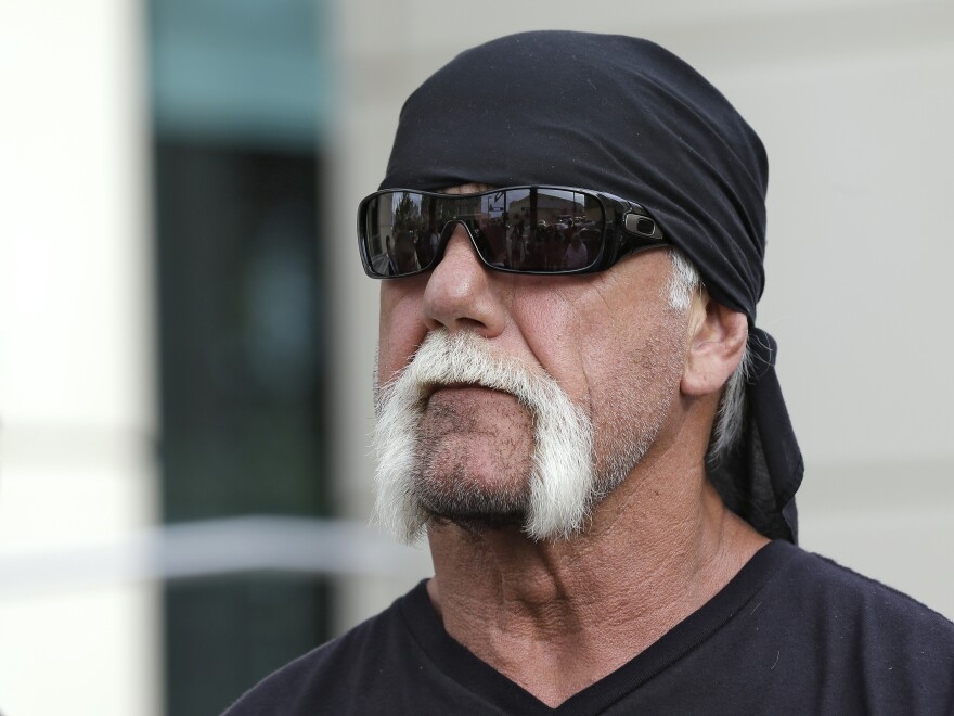 Hulk Hogan's contract with World Wrestling Entertainment has been terminated.