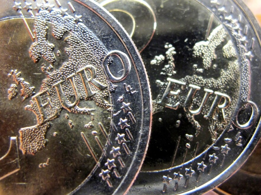 There's increased uncertainty in Europe over the future of the common currency, the euro. The central problem is that some euro users, such as Greece, have weak economies while others, such as Germany, have strong ones.