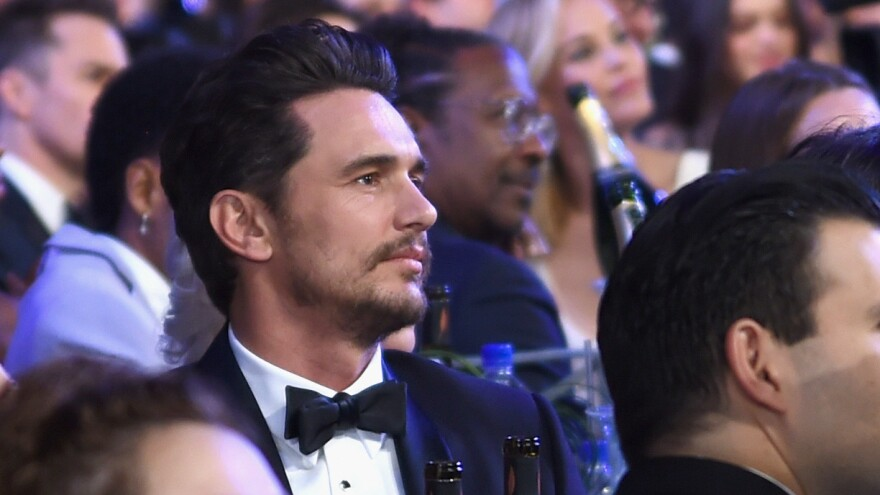 James Franco, shown here at the Screen Actors Guild Awards in 2018, has been served with a lawsuit alleging sexual exploitation and fraud.