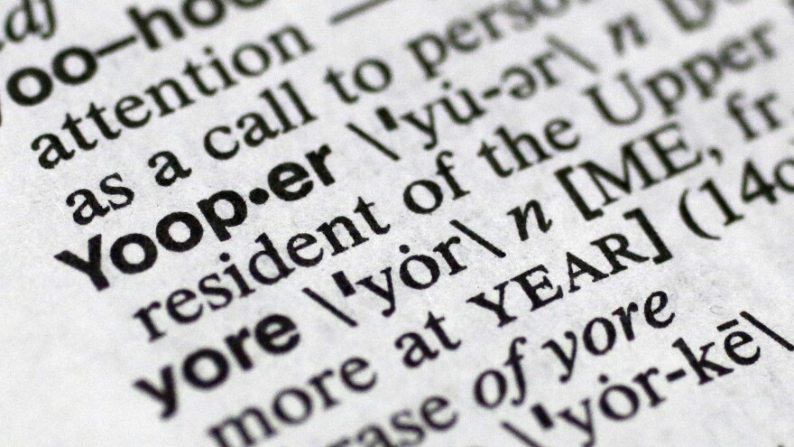 """If you need to know how to pronounce the term """"yooper,"""" this version of Merriam-Webster's Collegiate Dictionary might not be the best guide."""