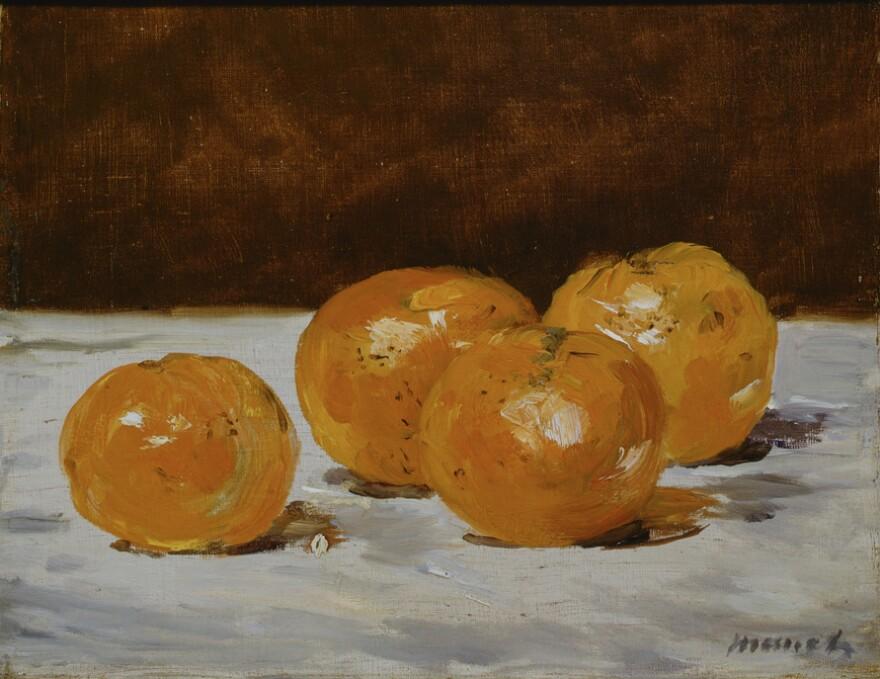 <em>Four Mandarin Oranges,</em> 1882