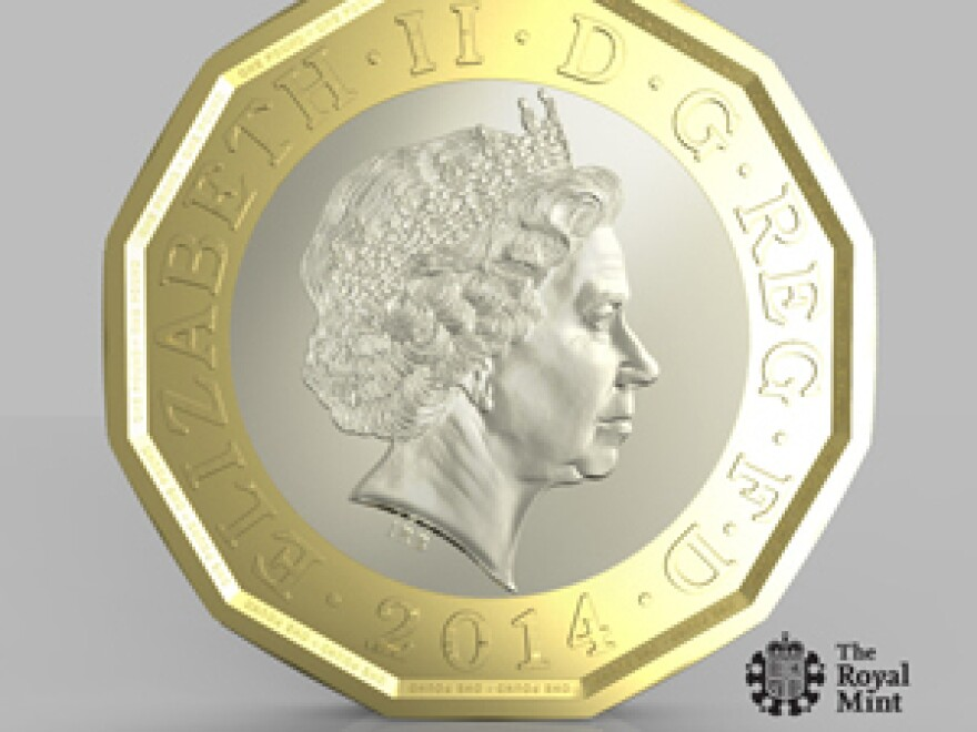 The new 12-sided coin billed as the most secure ever. It is scheduled to be introduced in 2017.