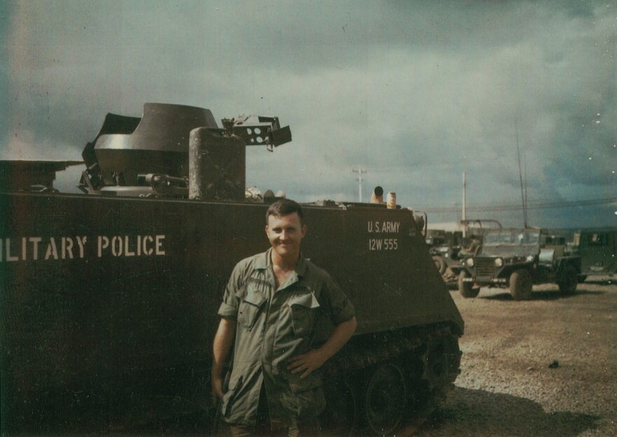 Larry Kimbrough was a Military Policeman assigned to the night shift at Long Binh Jail.