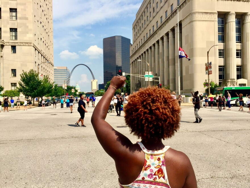Organizers with the St. Louis Action Council have protested against systemic inequality in Missouri.