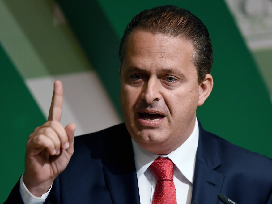 Eduardo Campos, who was 49, formerly served as governor of Pernambuco state in northeast Brazil.