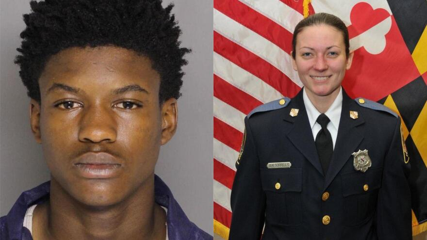 Dawnta Harris, who is now 17, was charged as an adult, accused of murdering police officer Amy Caprio in May of 2018.