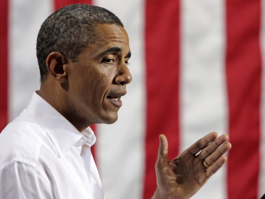 <p>President Obama talked about jobs last week in North Chesterfield, Va.</p>