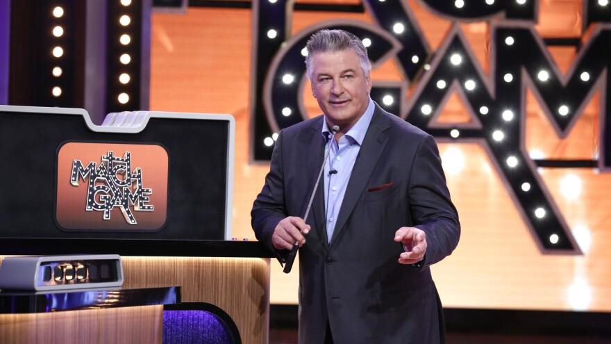 Alec Baldwin hosts ABC's reboot of <em>Match Game.</em>