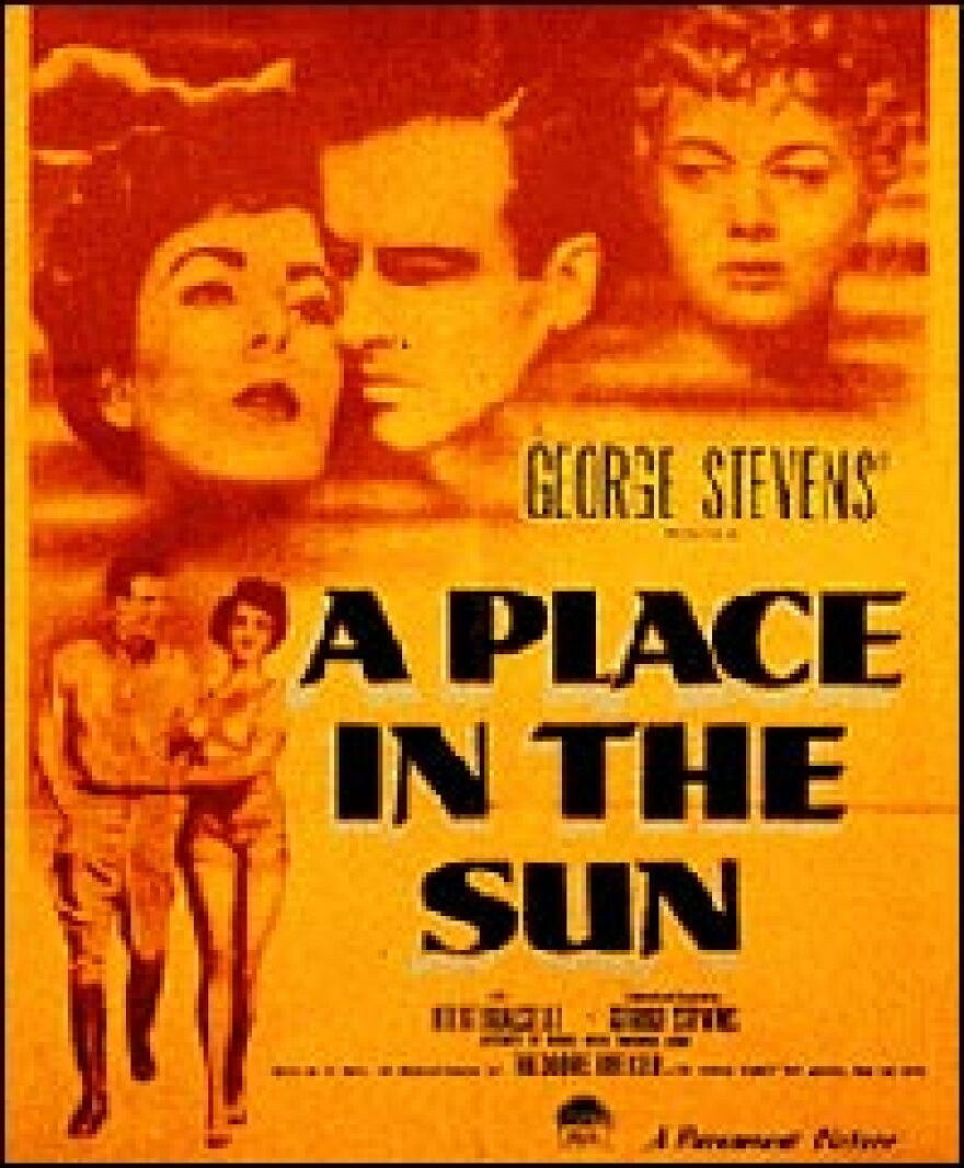 <I>A Place In The Sun,</I> a movie based on the 1906 murder at Big Moose Lake, won six Oscars in 1951, including best director and best screenplay. It starred Montgomery Clift and Elizabeth Taylor.