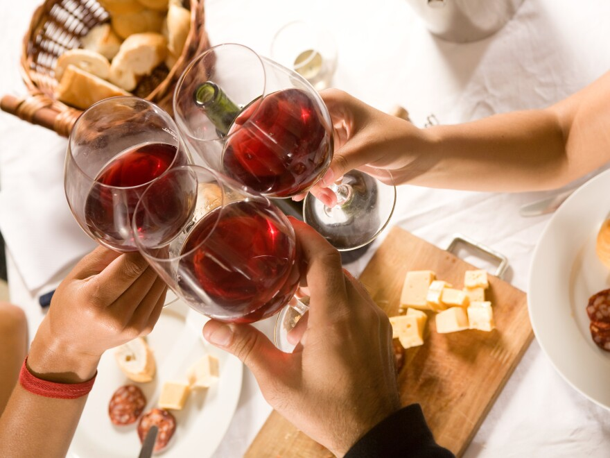 Party's over for a federal study about the health effects of moderate alcohol consumption.