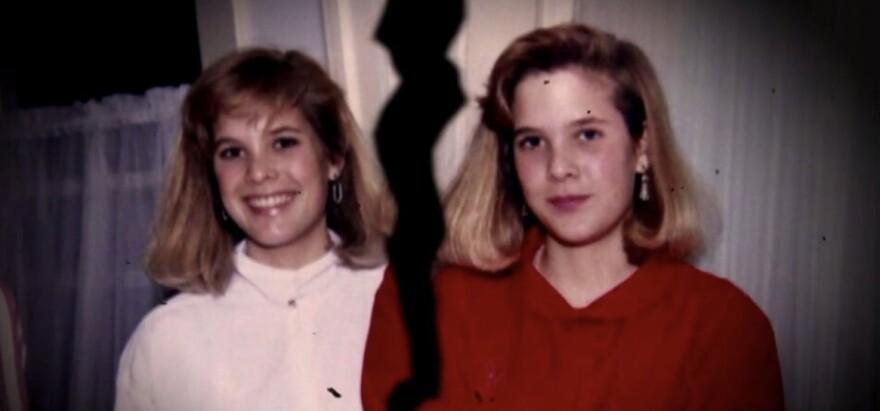Jody LeCornu (L) and her twin sister, Jennifer Carrieri, were inseparable.