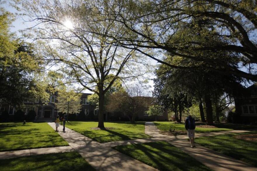 Wingate University Quad