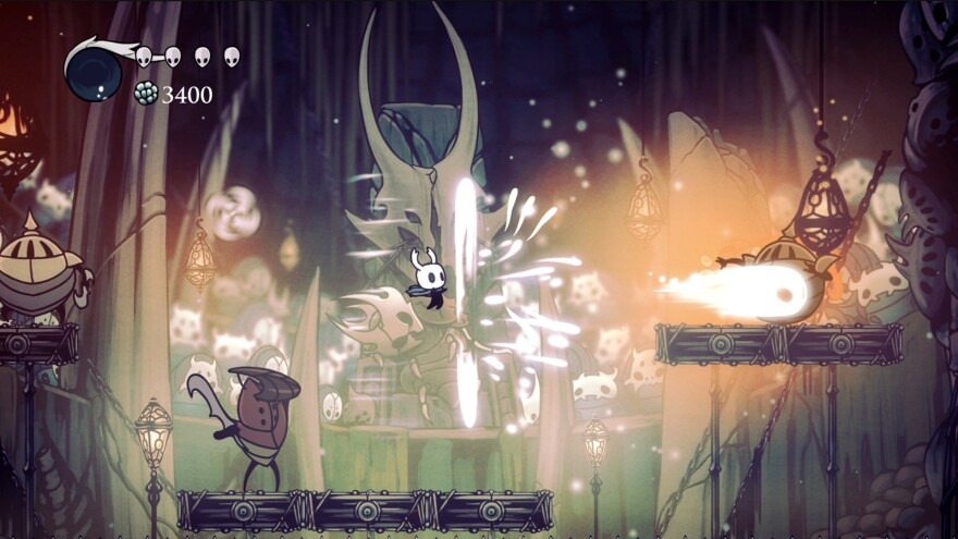 In <em>Hollow Knight</em>, you explore a bug-infested underground kingdom.