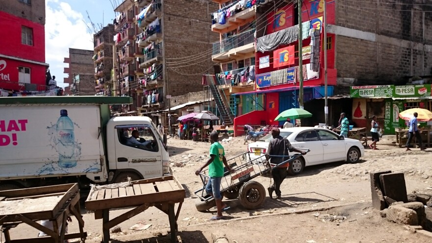 With hundreds of thousands of residents, Kibera is one of the most densely populated areas on earth.