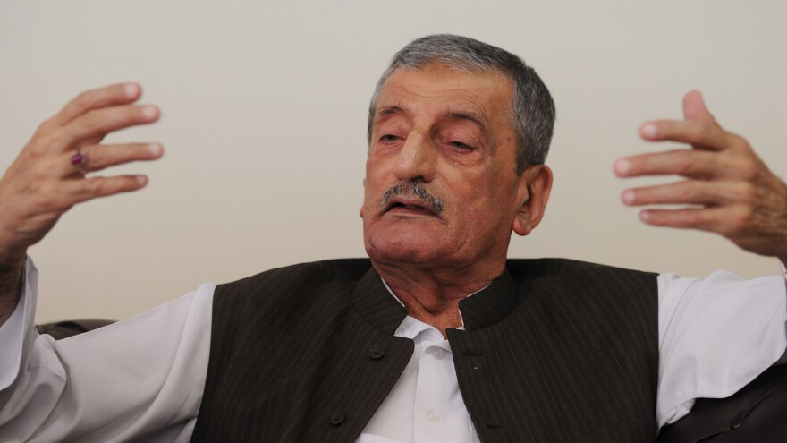 """Ghulam Ahmed Bilour, Pakistan's railways minister, has offered $100,000 for the death of a filmmaker who produced an anti-Islam movie. He says it's the """"only way"""" to stop insults to the Prophet Muhammad."""