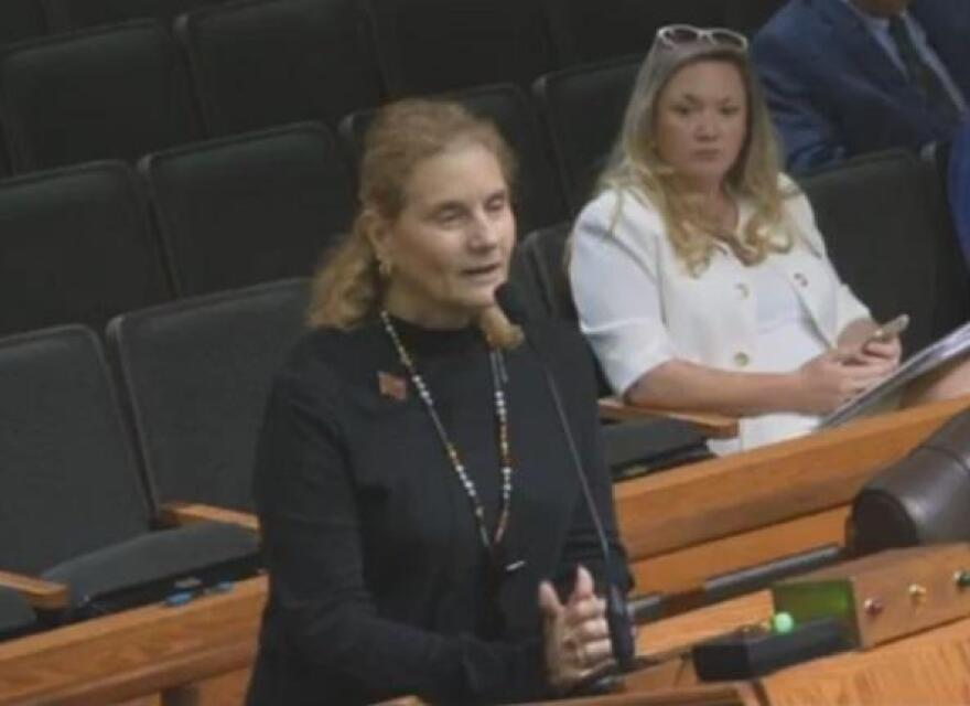 """""""I am in support of keeping the Robert E. Lee portrait and statue,"""" said Boni Raitt to Lee commissioners Tuesday. """"Without him, there would be no Lee County."""""""