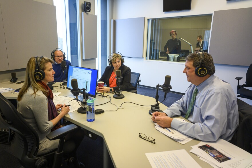 Legal Roundtable panelists Bill Frievogel, Nicole Gorovsky and Mark Smith joined host Sarah Fenske. | 1/27/2020