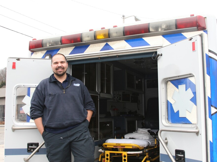 After David Wiley was laid off from the grueling day to day of the coal mining industry, he found a new livelihood working for STAT EMS in Pineville, W.V.