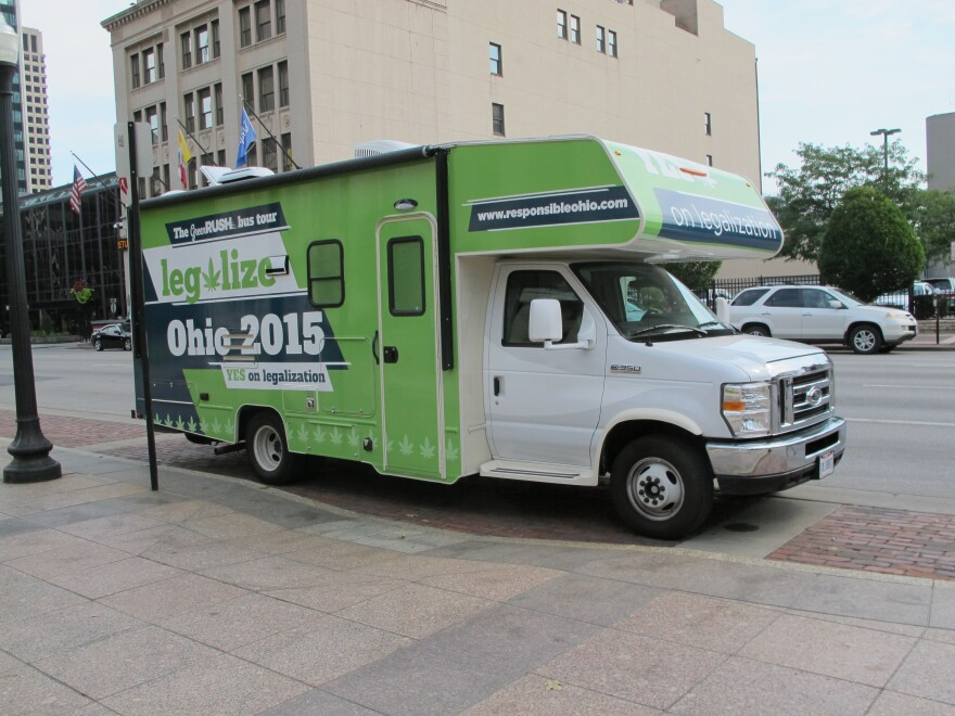 ResponsibleOhio this week kicked off an RV tour of the state to promote its marijuana legalization initiative.