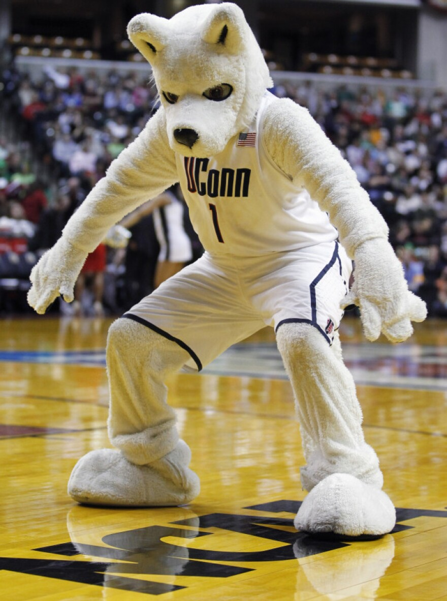 If she's right, the UConn Huskies will be celebrating.