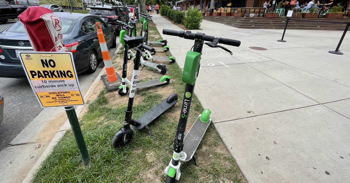 Charlotte's Scooters Are Making A Comeback