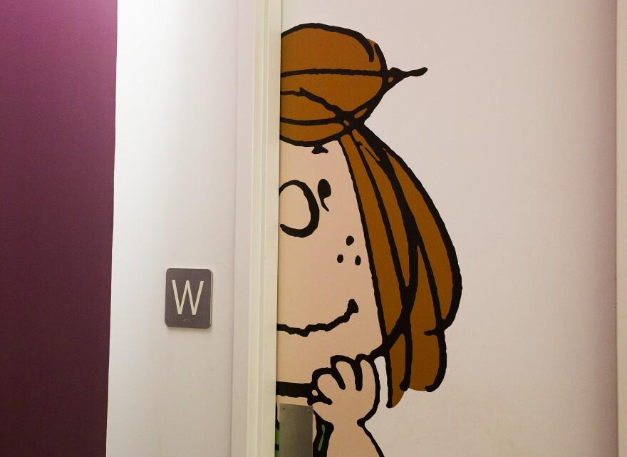 peppermint_patty_on_bathroom_door_at_andrews_mcmeel_universal_adam_vogler_kc_business_journal_1.jpg