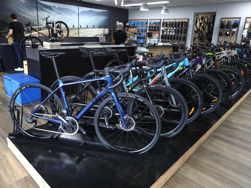 There's a huge bike boom.