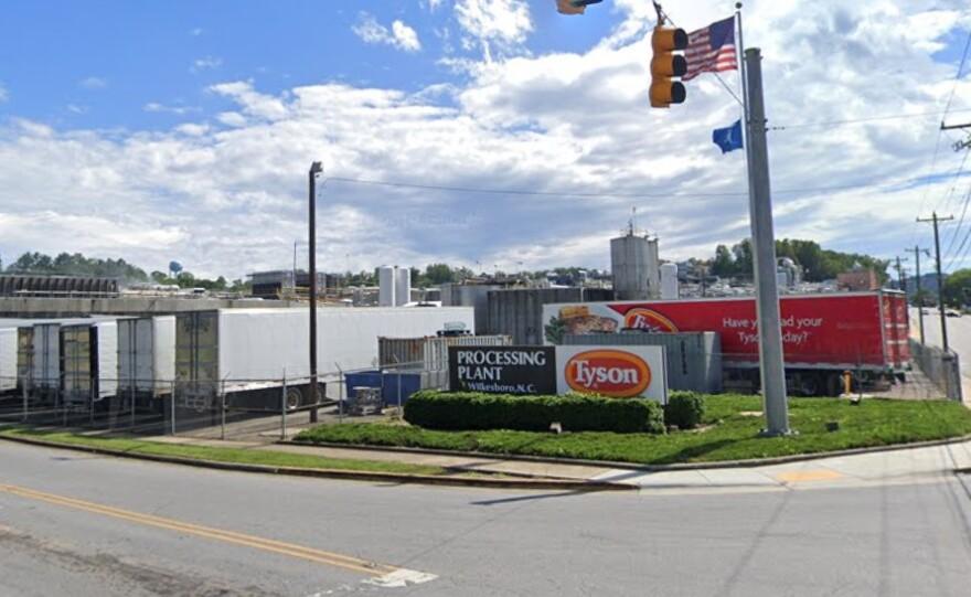 Tyson processing plant