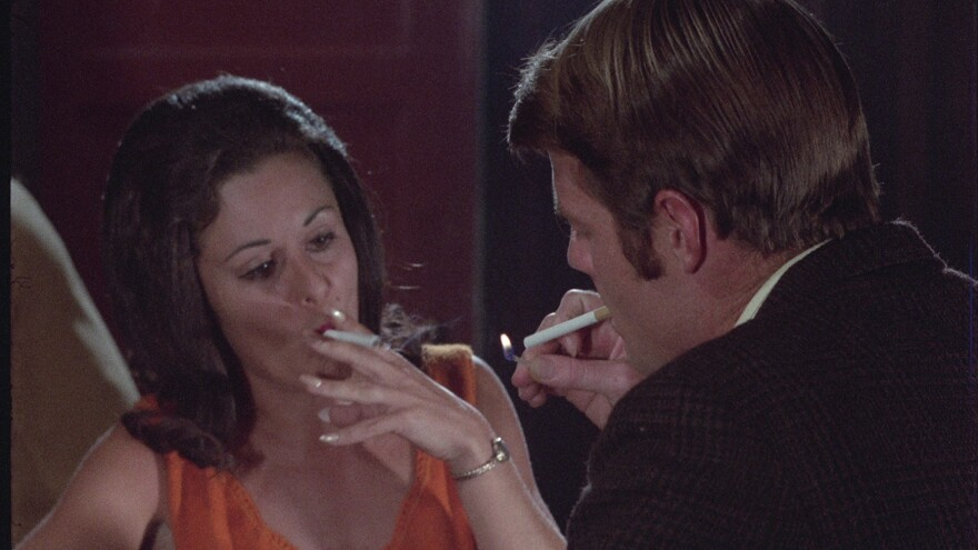 A still from <em>The Ecstasies of Women</em>, one of three films credited to Herschell Gordon Lewis that are being restored by  Process Blue.