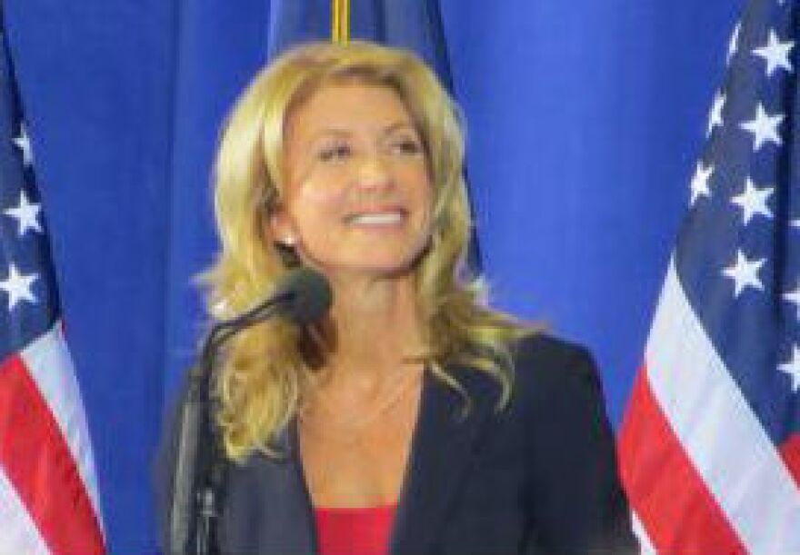 Wendy Davis announced earlier this month she was running for Texas governor.