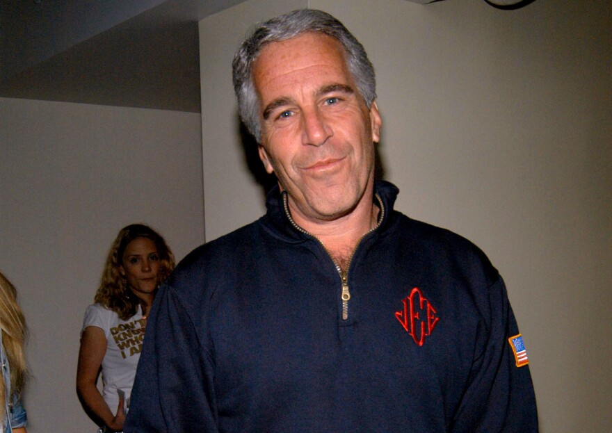Under a plea deal brokered in 2007, Jeffrey Epstein served just 13 months and was granted work release. He is seen here at a New York City event in 2005.