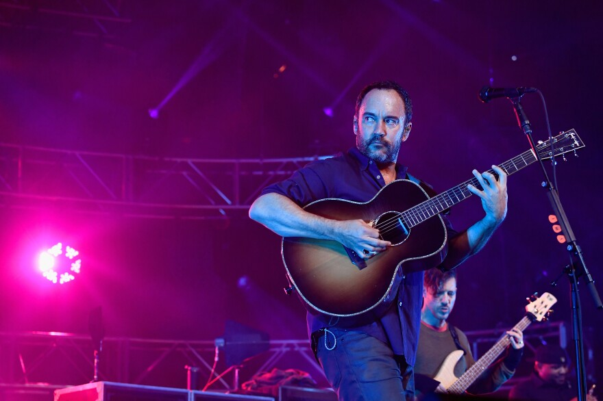 Dave Matthews Band performs in St Paul., Minn. in February.
