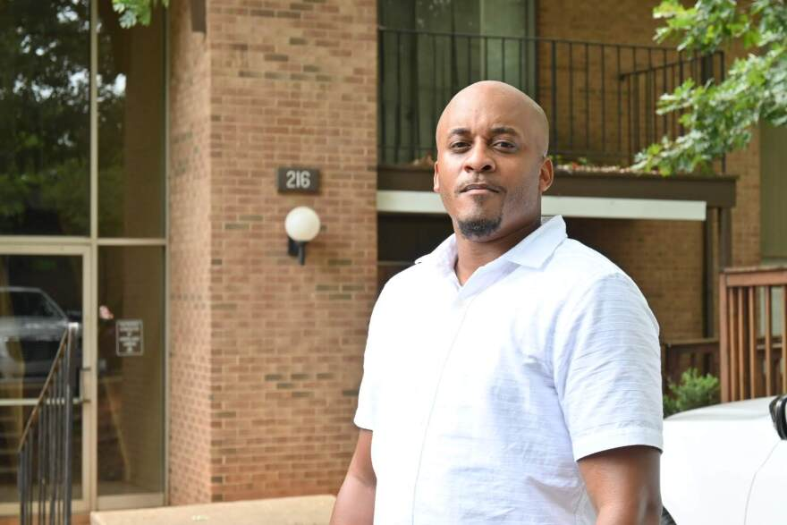 Greg Jackson runs the group Heal Charlotte, which wants to buy a hotel off I-85 for a transitional housing campus.