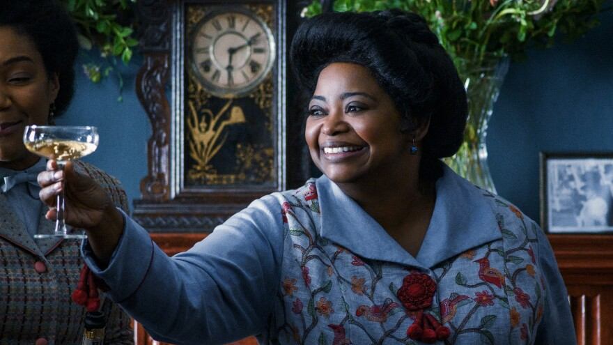 "Octavia Spencer plays businesswoman Madam C.J. Walker in the Netflix series<em> Self Made. ""</em>I've always felt that her story was germane to who I am as a black woman,"" Spencer says."