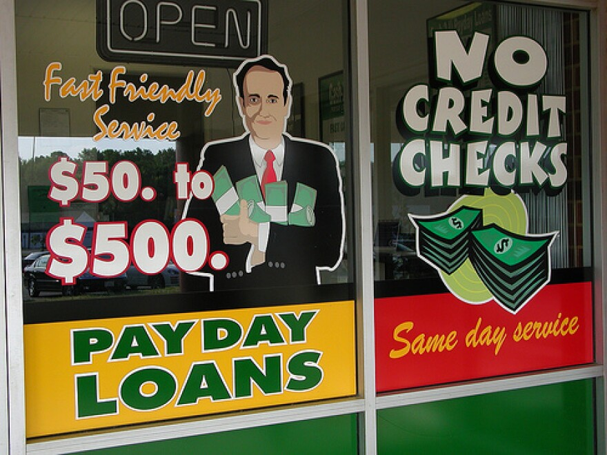 Although the payday loan industry has come under fire for high interest rates and other business practices, supporters say the operations fill a need for people who might not have easy access to money to help pay bills and cover other expenses.