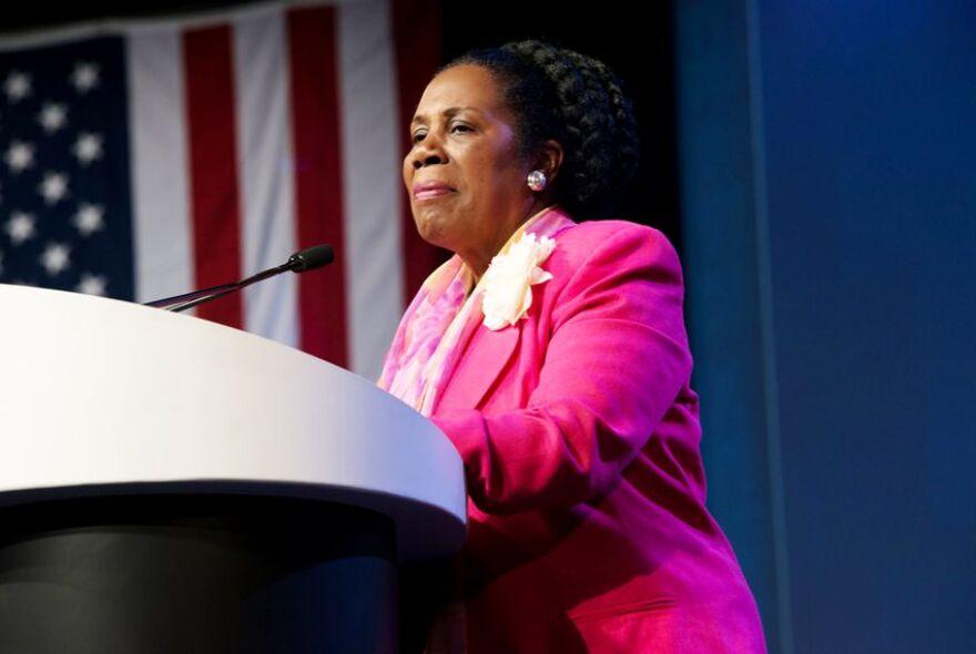 U.S. Rep. Sheila Jackson of Houston