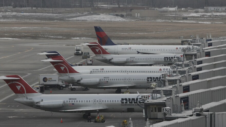 Rabbi S. Binyomin Ginsberg sued Northwest Airlines for what he says was unfair termination from its frequent-flier program. His case goes goes before the Supreme Court on Tuesday.
