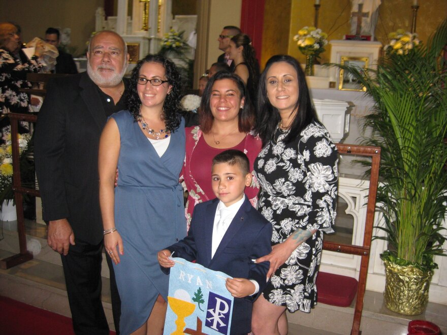 Richard Yodice with family 09-11-2020
