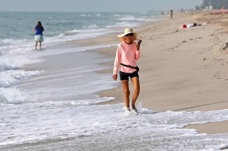 Fort Lauderdale Beach is among the shores that will close over the July 4 holiday weekend due to rising case numbers of the coronavirus.