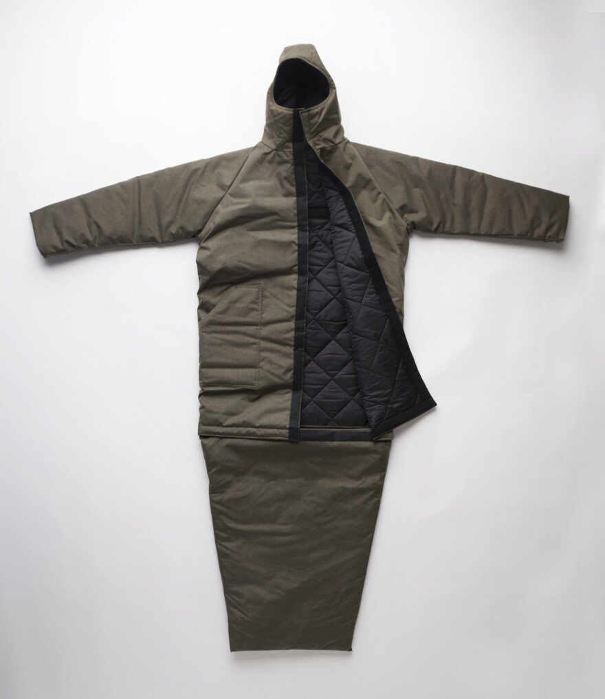 The Empowerment Plan says it can produce 1,000 of these high-tech coats on a budget of $100,000.