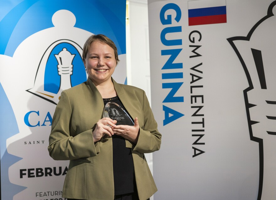 Valentina Gunina emerged victorious from the inaugural Cairns Cup women's chess tournament. Feb, 2019