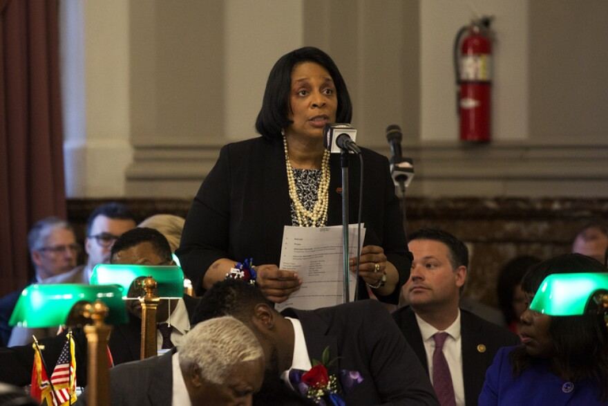 Alderman Sharon Tyus is not necessarily against revamping the convention center, but contends the city has bigger problems.
