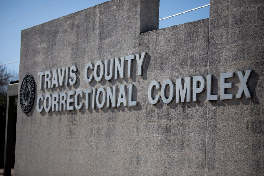 Travis County Correctional Complex Del Valle Sign 01 15 21.jpg