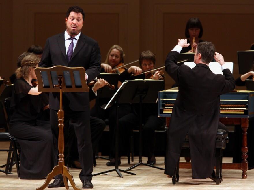 Countertenor David Daniels, performing at New York's Carnegie Hall in 2013.