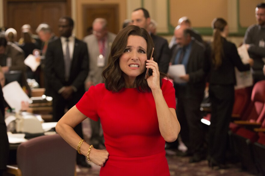 """Julia Louis-Dreyfus has won the """"Outstanding Lead Actress In A Comedy Series"""" Emmy five times for her portrayal of Selina Meyer in HBO's <em>Veep.</em>"""